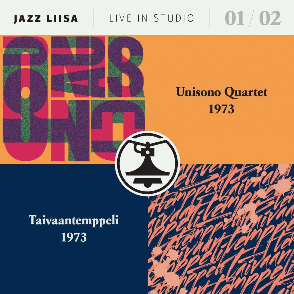 Jazz-Liisa 1&2 - Unisono Quartet / Taivaantemppeli CD